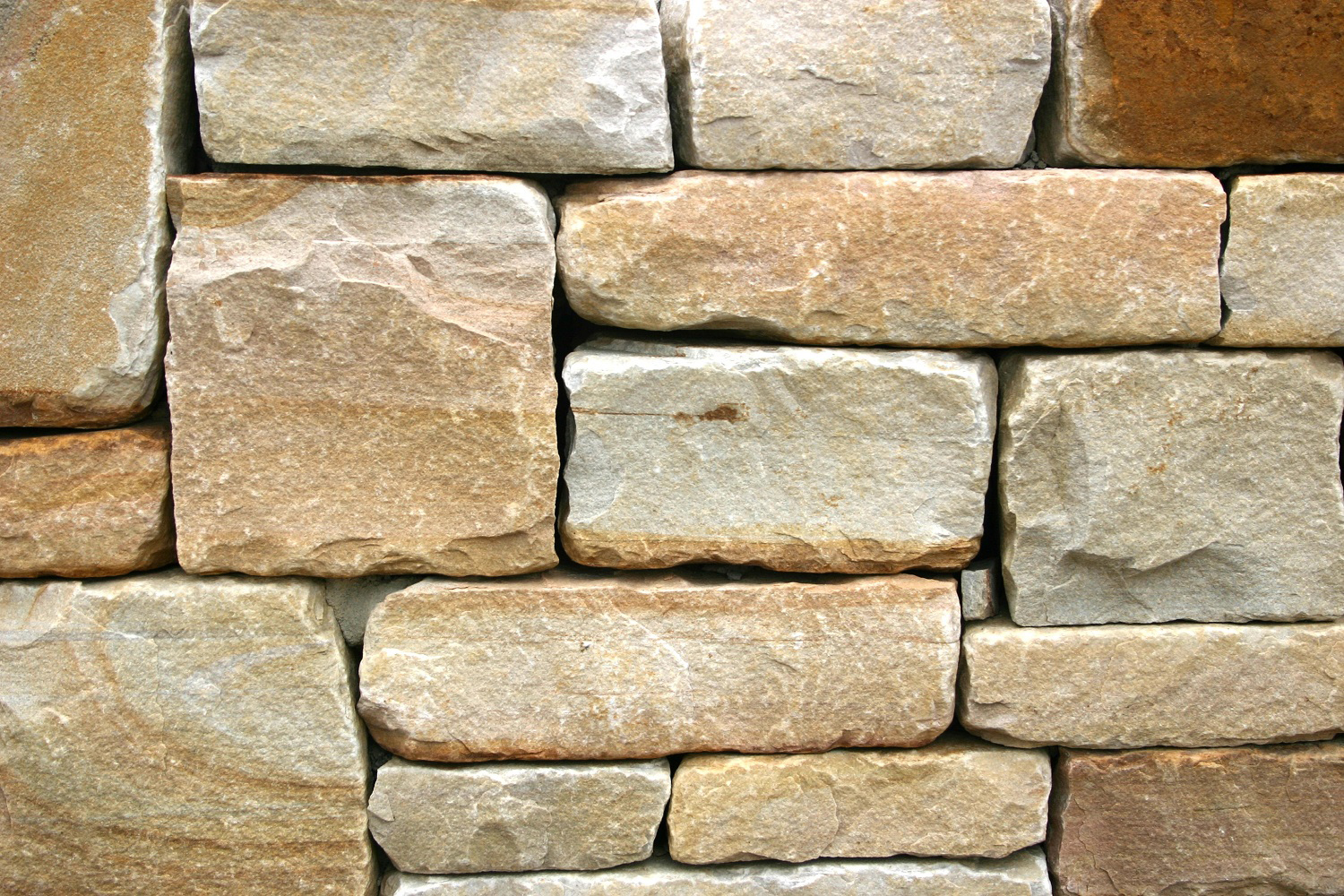 Thin Stone Veneer : Cherry blend thin veneer