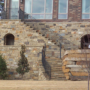 Stone mix for Mixing brick and stone